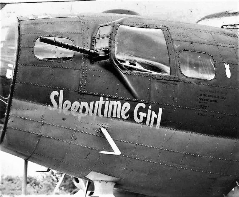WWII B17 Flying Fortress Engine Surfaces