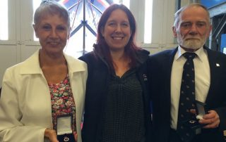 Vivien and Graham Foster have been awarded the 'Bronze Badge' by the RNLI