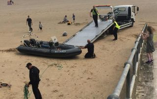 illegal immigrants were found floundering off the coast at Dymchurch
