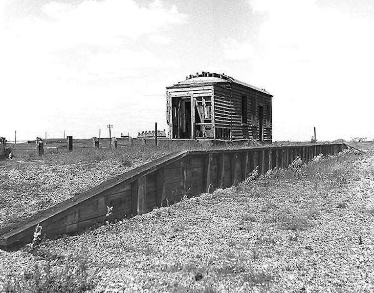 original main line Dungeness stop
